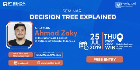[FREE Seminar] - Decision Tree Explained  tickets