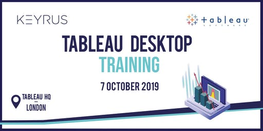 Tableau Desktop Immersive All Day Workshop - 7th October 2019