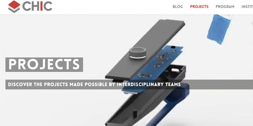 CHIC - Discover the projects made possible by interdisciplinary teams