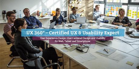 UX 360° – Certified UX & Usability Expert, Stuttgart Tickets