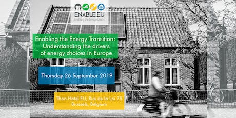 Enabling the Energy Transition: Understanding the drivers of energy choices in Europe tickets