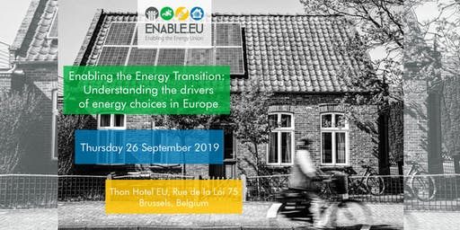 Enabling the Energy Transition: Understanding the drivers of energy choices in Europe