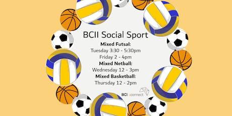 BCII Connect SOCIAL SPORT SEM 2! tickets