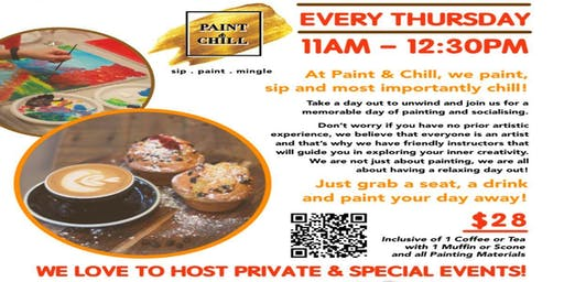 Morning Coffee Paint Party @ Smashed Pumpkin Cafe, Westgate