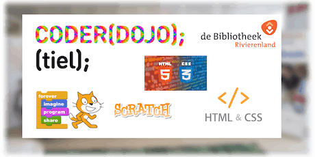 Coderdojo-tiel 14 September 2019 tickets