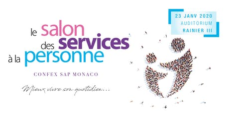 "SALON DES SERVICES A LA PERSONNE ""CONFEX SAP"" MONACO 2020 tickets"