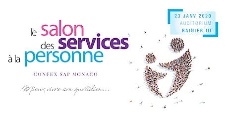 """SALON DES SERVICES A LA PERSONNE """"CONFEX SAP"""" MONACO 2020 billets"""