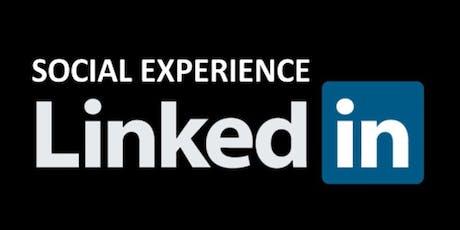 Social Experience LinkedIn ingressos