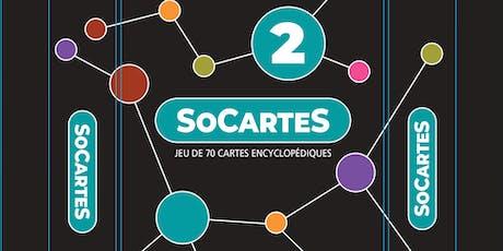 La deuxième édition de SoCartes - Jeu pédagogique pour enfants billets