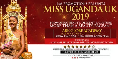 Miss Uganda UK™ 2019 Grand Finale tickets