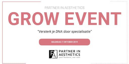 Partner in Aesthetics GROW Event