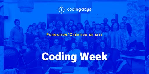 [CODING WEEK] Une semaine pour créer son site web ! - Paris