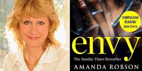 Author Event: Amanda Robson- Envy tickets