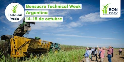 Bonsucro Technical Week Argentina