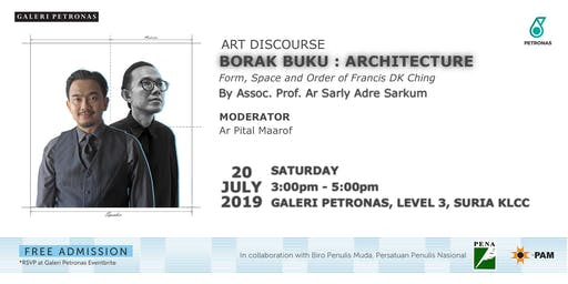 BORAK BUKU: ARCHITECTURE FORM, SPACE AND ORDER OF FRANCIS DK CHING