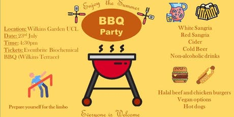 Summer BBQ in the Main Quad tickets