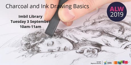Charcoal and Ink Drawing Basics at Imbil - Adult Learners Week tickets