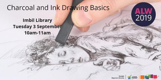 Charcoal and Ink Drawing Basics at Imbil - Adult Learners Week