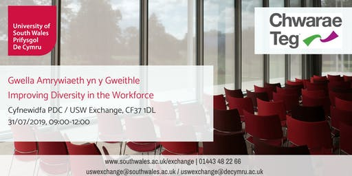 Improving Diversity in the Workplace by Chwarae Teg | Gwella Amrywiaeth yn y Gweithle gan Chwarae Teg