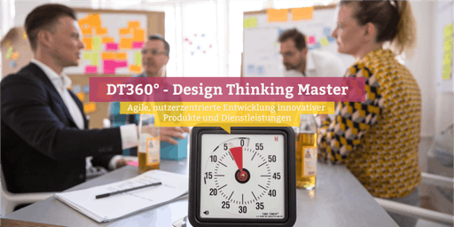 DT360° - Certified Design Thinking Master, Stuttgart