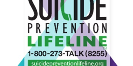 """""""Suicide Prevention & Peer Support Community Learning & Networking"""" #SAVLIV tickets"""