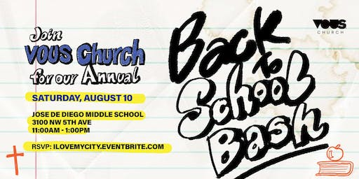 Back to School Bash