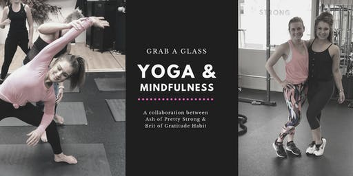 Yoga & Mindfulness - Grab a Glass