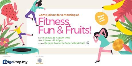 Fitness, Fun & Fruits! tickets