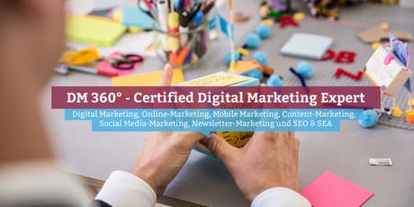 DM360° - Certified Digital Marketing Expert, Stuttgart Tickets