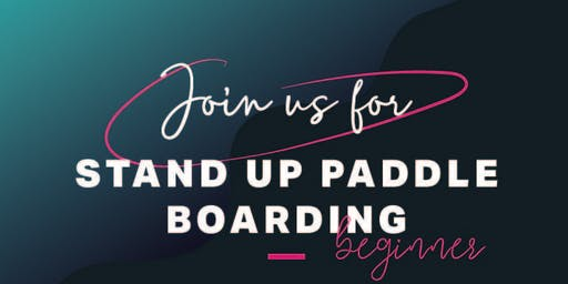 Women's Beginner Stand Up Paddle Boarding Session