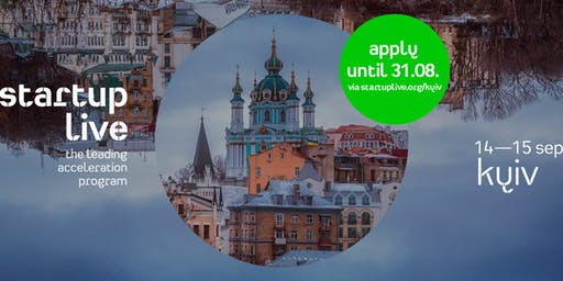 Startup Live Kyiv — boost your startup