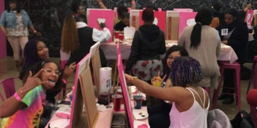 Pretty Girls Love Thirsty Trap and Paint Classes
