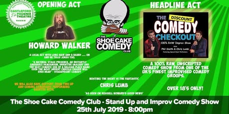 FREE COMEDY TICKETS - CASTLEFORD - THURS 25TH JULY - LIMITED AMOUNT tickets