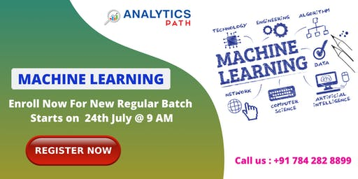 New Regular Batch on Machine Learning Training From 24th July @ 7 am