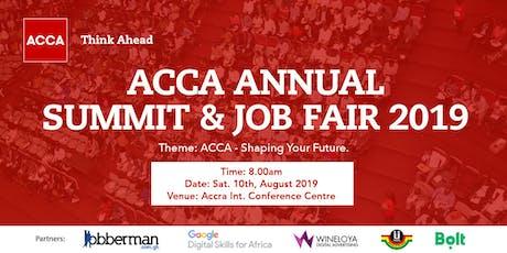 ACCA Annual Summit & Job Fair 2019 tickets