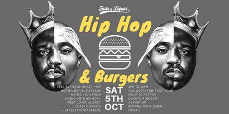 Hip-Hop & Burgers Festival tickets