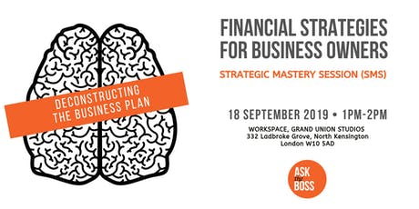Deconstructing The Business Plan tickets