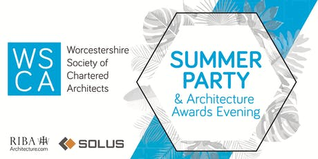 RIBA Worcestershire Summer Party & Architecture Awards tickets