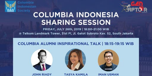 Columbia Indonesia Sharing Session 2019