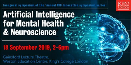Artificial Intelligence (AI) for Mental Health & Neuroscience tickets
