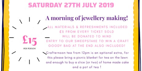 Craftermorn in aid of MIND tickets