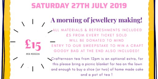 Craftermorn in aid of MIND