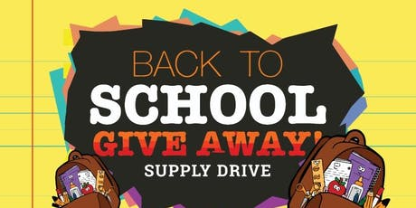 Back to School Supply Drive 2019 tickets