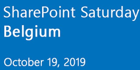 SharePoint Saturday Belgium 2019 tickets
