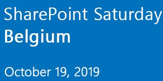 SharePoint Saturday Belgium 2019