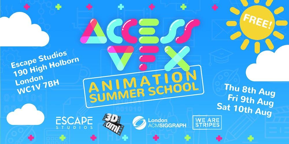 ACCESS: VFX Animation Summer School Tickets, Multiple Dates | Eventbrite