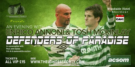 The Defenders of Paradise - Enrico Annoni & Tosh McKinlay tickets