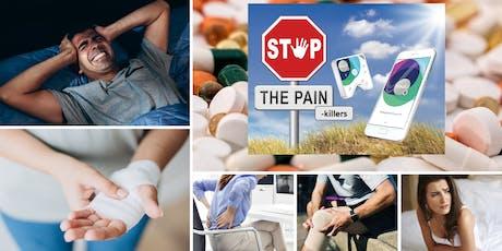 Pijnbestrijding, depressie, angsten, gezondheid, welzijn, fitness en meer. tickets