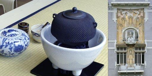 Cérémonie du thé japonaise avec visite de la Maison Cauchie (en Français)