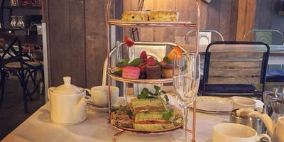 Afternoon Tea With Prosecco @ Exchange Food And Drink Lounge